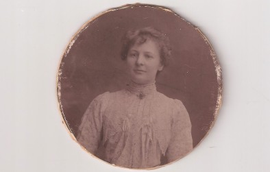 My grandmother, Margaret Milligan, at about 25 years